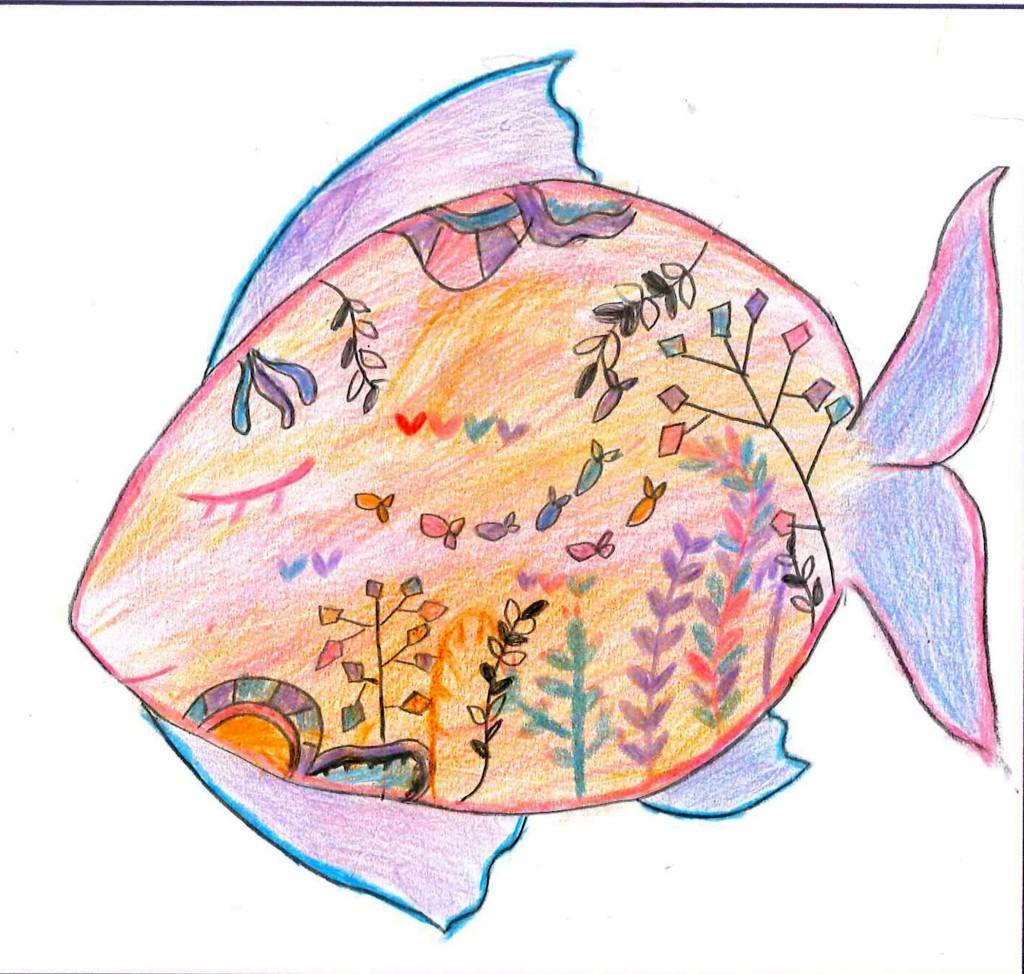 【サンゴがらの魚】