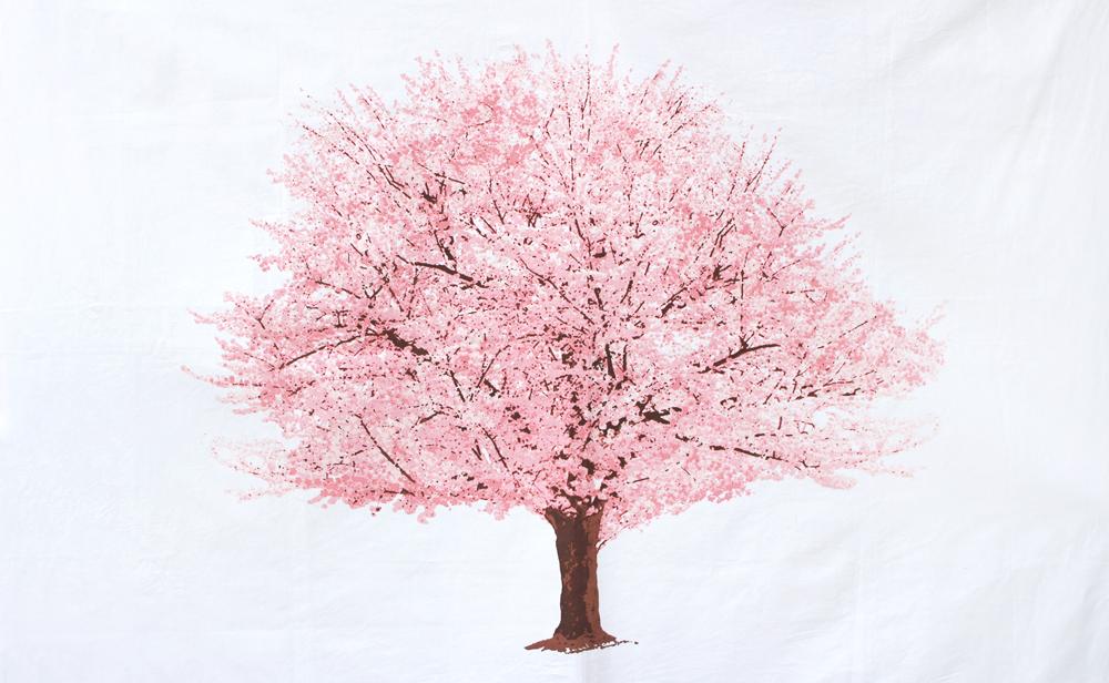 桜の木のタペストリー