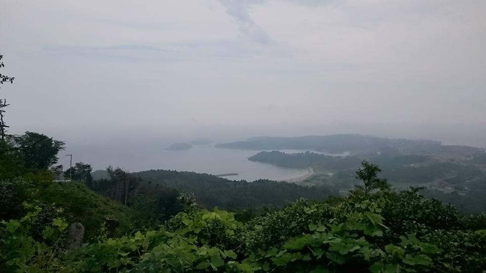 亀山山頂からの景色
