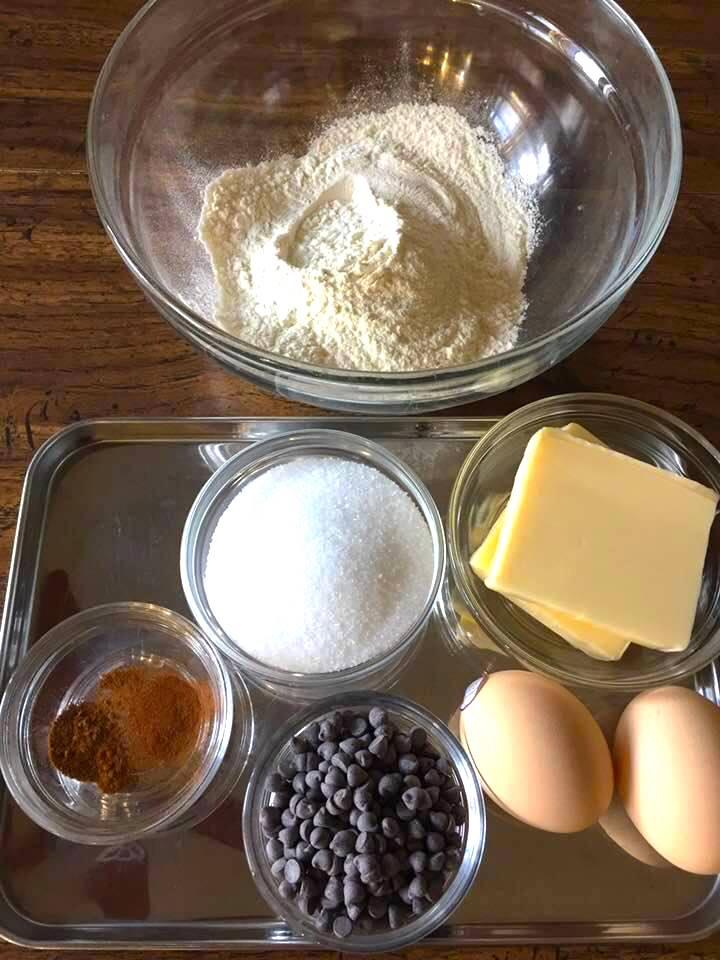 カップケーキの材料
