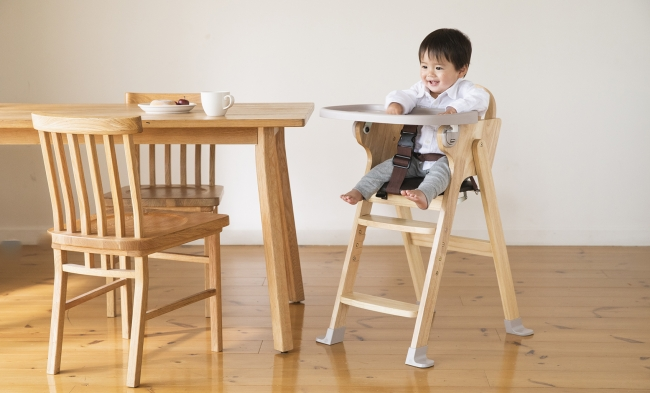 木製ハイチェア Easy-sit(イージーシット)