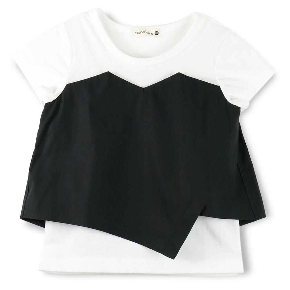 ビスチェ重ね着風半袖Tシャツ