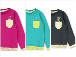 BOY / GIRL 商品番号 [11-4605-504] ムーミンポケット付長袖Tシャツ