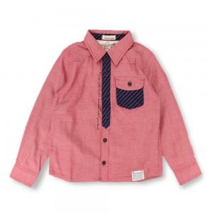 商品番号 [11-4308-325] 二重織りダンガリー長袖シャツ