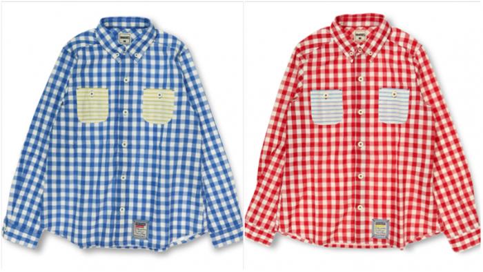 MAMA 商品番号 [13-5108-385] ギンガムチェック長袖シャツ(MAMA)