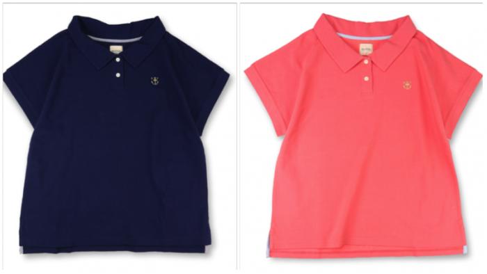 MAMA 商品番号 [13-5217-182] 鹿の子半袖ポロシャツ(MAMA)