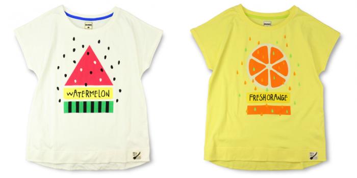 MAMA 商品番号 [13-5206-476] フレッシュフルーツPt半袖Tシャツ(MAMA)