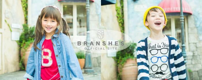 ブランシェス オフィシャルサイト バナー