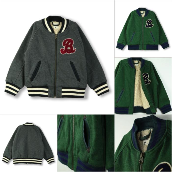 BOY 商品番号: 11-5410-420 ボア裏毛ジャケット