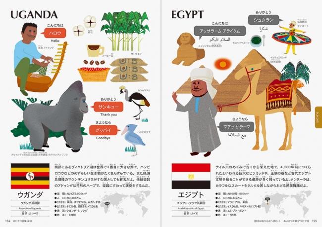 『世界えじてん』ウガンダ・エジプト