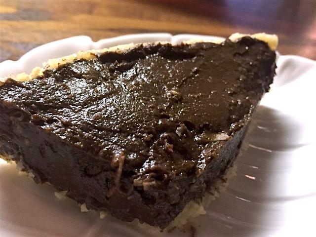 アボカド風チョコレートタルト