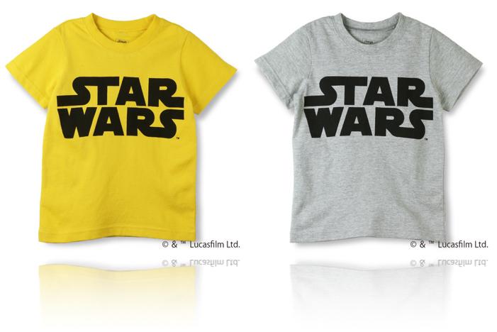 skeegee STARWARSコレクション ロゴTシャツ