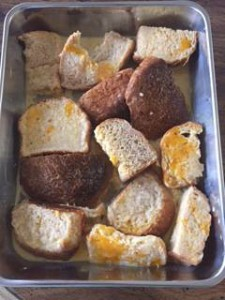 固くなったパン