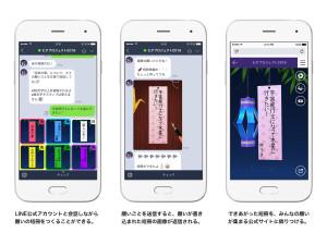 七夕プロジェクト2016スマホ画面