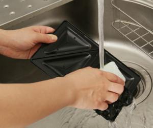 プレートの丸洗い