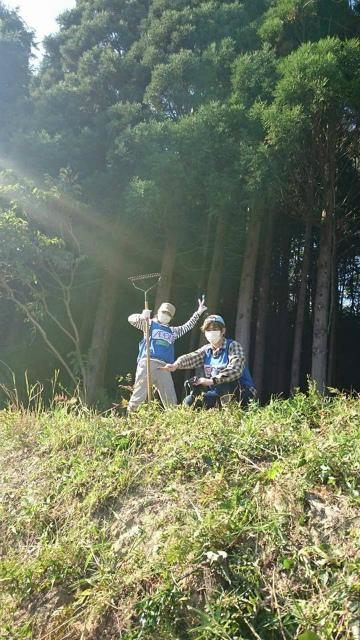 草刈り作業1
