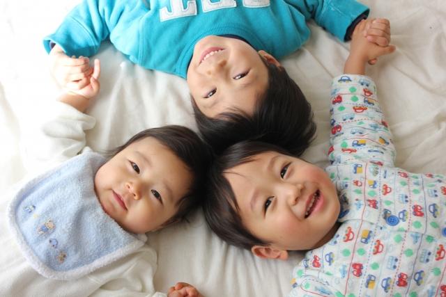 男の子3兄弟