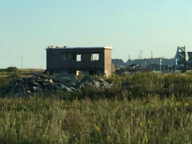 震災後そのままになった家屋