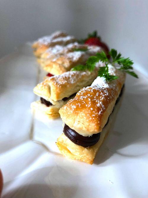 チョコレートスティックパイ