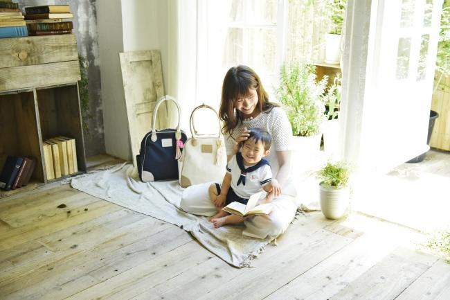 ママと子どもとマザーズバッグ