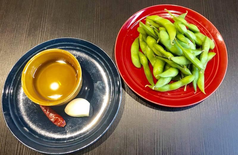 ガーリック枝豆の材料