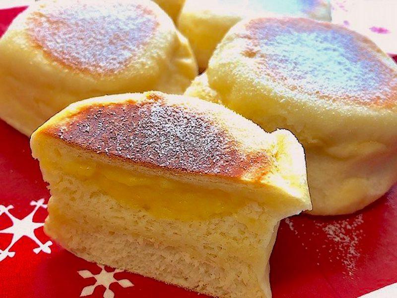 クリーム白パン