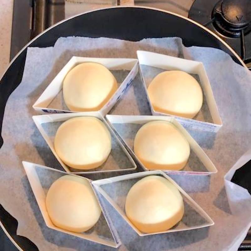 豆腐もちもちパン1.5倍に膨らむ