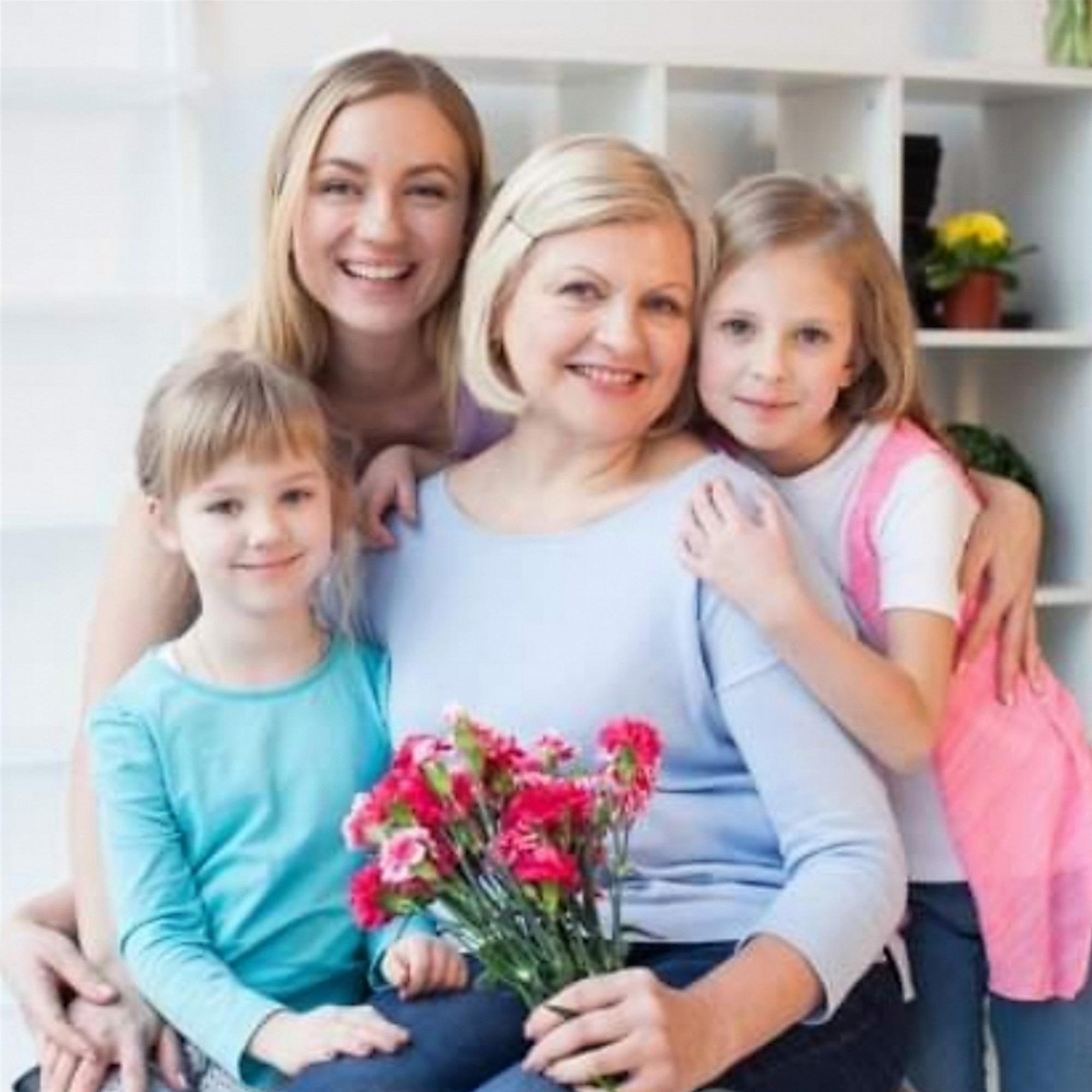 祖母と家族