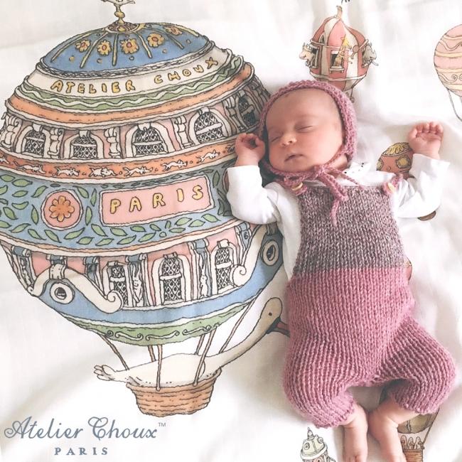 AtelierChouxのタグと赤ちゃん