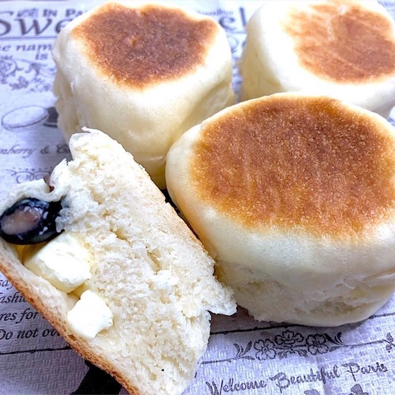 黒豆チーズパン