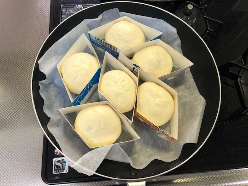 黒豆チーズパンの生地