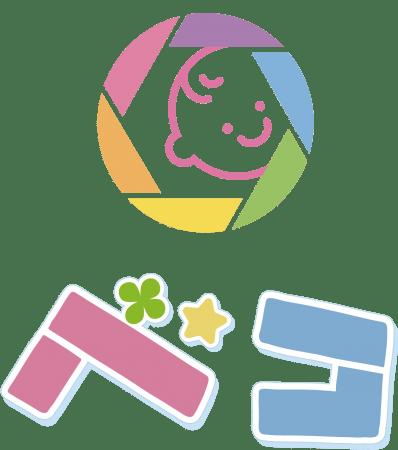 フォトデコレーションアプリ「ベコ」のロゴ