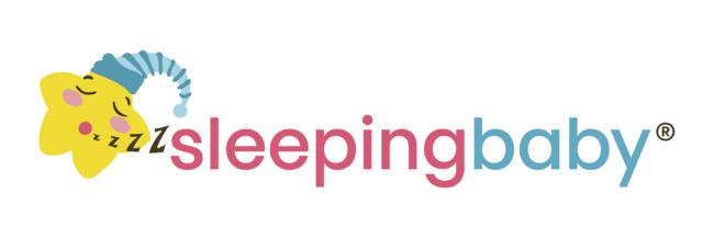 パジャマ「Sleeping Baby」ロゴ