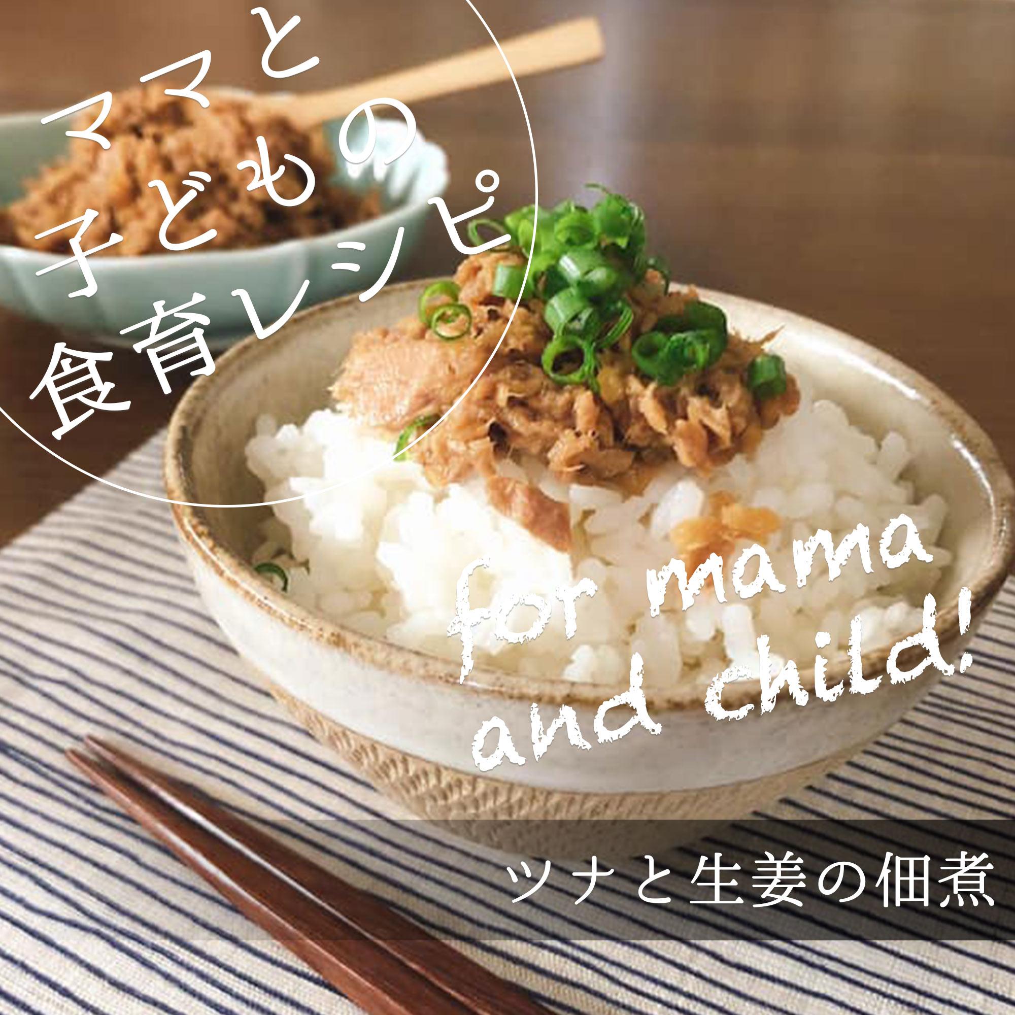 ツナと生姜の佃煮