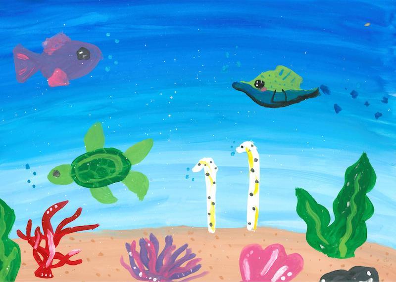 サンゴとゆかいな仲間たち
