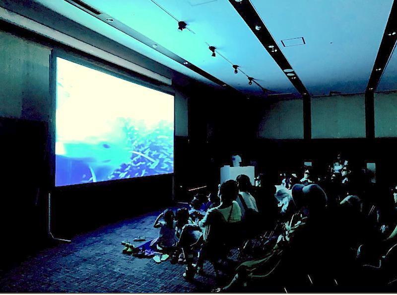サンゴの海3D上映会&海からの贈り物でフォトフレーム作り