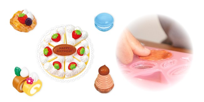 シリコンねんどケーキやさんセット