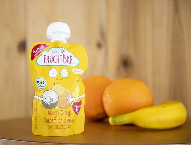 FRUCHTBAR マンゴー・オレンジ・ココナッツ・バナナ
