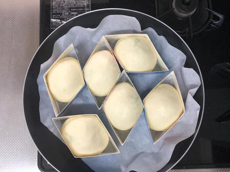 枝豆ふわりパンの作り方