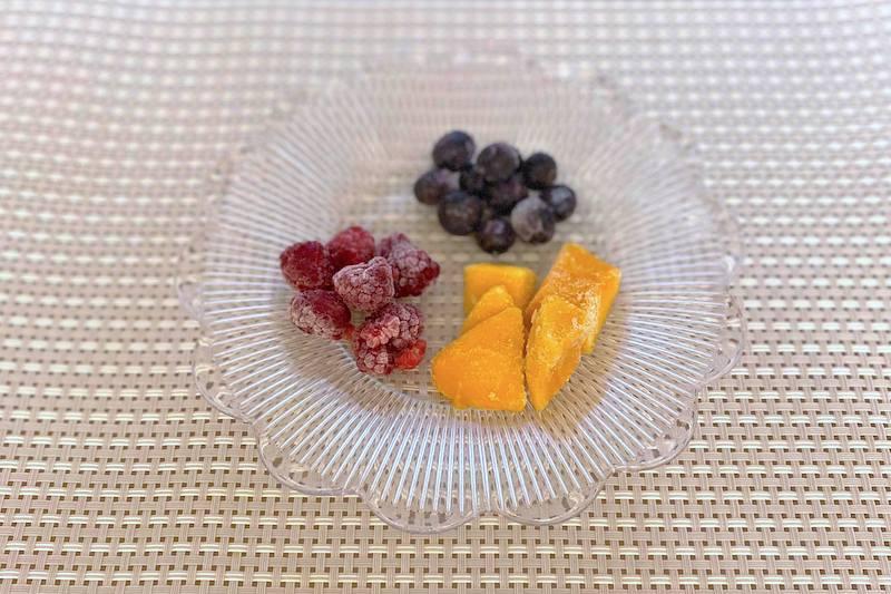 冷凍ブルーベリー・ラズベリー・マンゴー