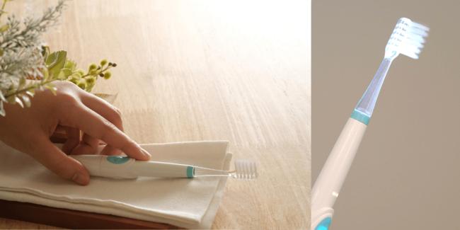光る歯ブラシ『ピカスポ』